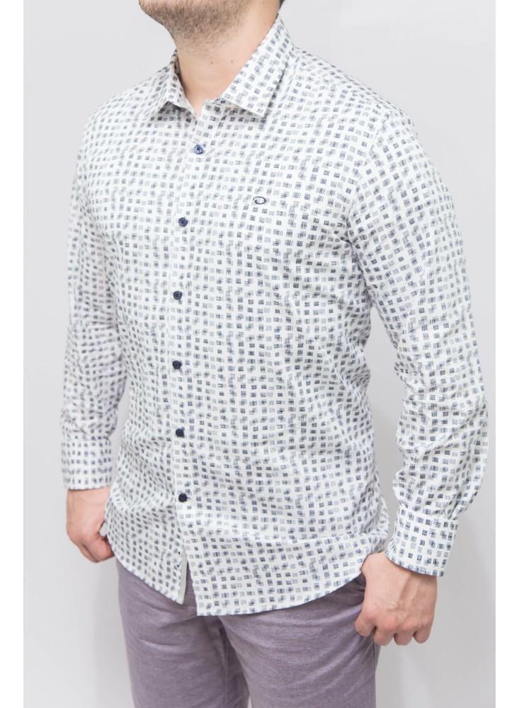 Camisa-Casual-Blanca-Cuadros-Sp17Wvn428-Tteclip