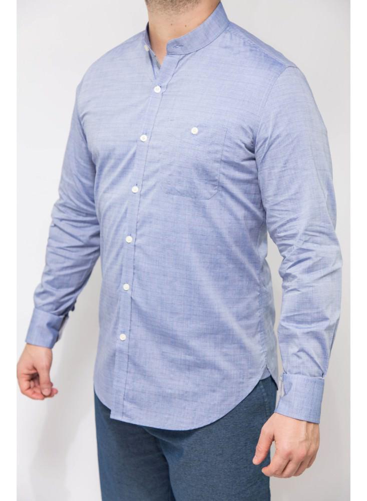 Camisa-Casual-Ml-Azul-Fw16Wvn202-Bl